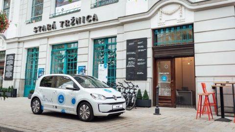 Elektromobily projektu up! city majú v Bratislave úspech