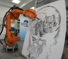 Na SlovakiaTechu v Košiciach vám robot namaľuje obraz