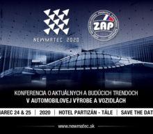 Konferencia NEWMATEC 2020 o aktuálnych a budúcich trendoch